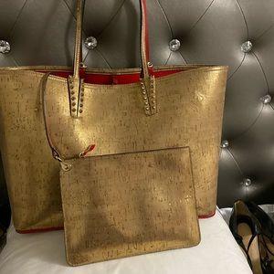 Christian Louboutin Cabata Spiked Studded Bag